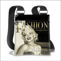 Sac bandoulière Marilyn Monroe Fashion Magazine