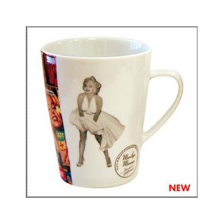 Mug conico Marilyn Monroe musica