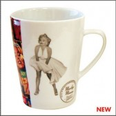 Conical mug Marilyn Monroe Music