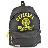 Backpack terminal US Marshall black and yellow 43 CM