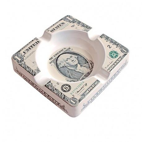 Reuze asbak Dollar vs