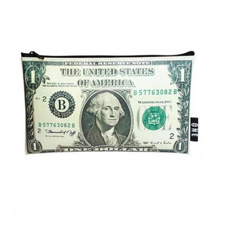 Pochette pvc Dollars USA 22 CM