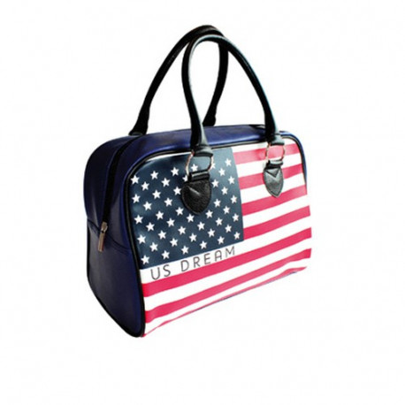 Bowling USA 32 CM Fahne Tasche