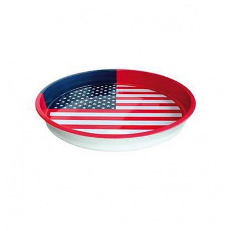 Round tray USA 33 CM
