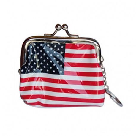 Wallet USA flag