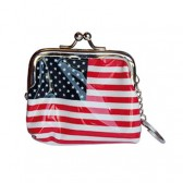 Wallet USA flag