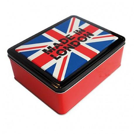 Caja rectangular de metal de Londres