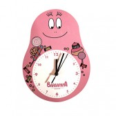 Pendule Barbapapa Gourmand rose