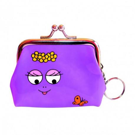 Cartera violeta de Barbapapa