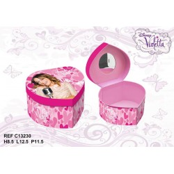 Violetta heart jewelry box