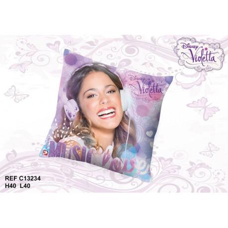 Coussin Violetta Music 40 CM