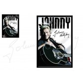 Guitarra de Johnny Hallyday Folk de espejo