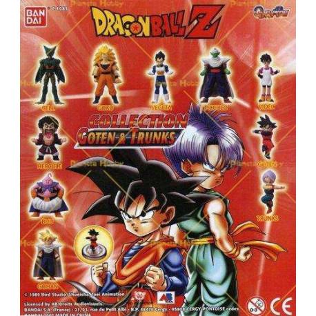 Sammlung von 10 Figuren Dragon Ball Z - Goten & Trunks