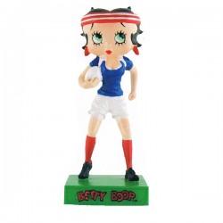 Figura giocatore di rugby di Betty Boop - collezione N ° 60