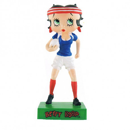 Figure Betty Boop rugby player - Collection N ° 60