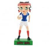Figura a Betty Boop jugador de rugby - colección N ° 60