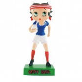 Figuur Betty Boop rugbyspeler - collectie N ° 60