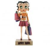 Figura a Betty Boop chica ir de compras - colección N ° 54