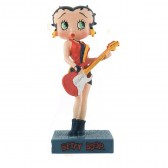 Figura a Betty Boop guitarrista - colección N ° 48