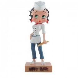 Figura a Betty Boop Baker - colección N ° 47