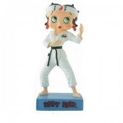 Figurine Betty Boop Karatéka - Collection N°44