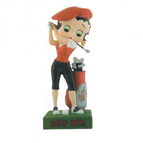 Figure Betty Boop golfer - Collection N 45