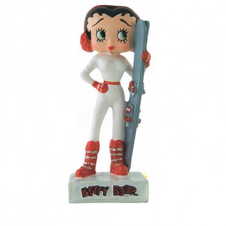 Abbildung von Betty Boop Skifahrer - Sammlung N ° 41
