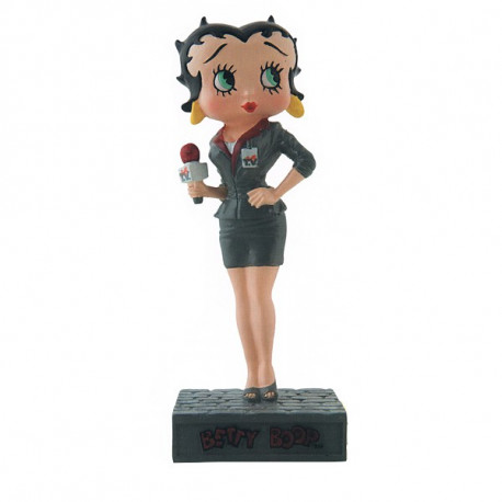 Figurine Betty Boop Journaliste - Collection N°40