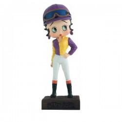 Figura Betty Boop Jockey - collezione N ° 39