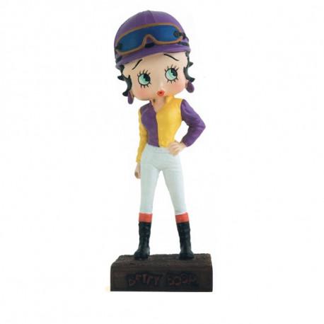 Figura a Betty Boop Jockey - colección N ° 39
