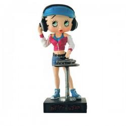 Figura Betty Boop DJ - colección No.37