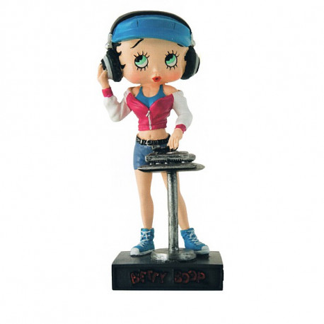 Figurine Betty Boop DJ - Collection N°37