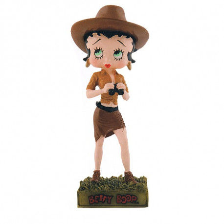 Figurine Betty Boop Aventurière - Collection N°26