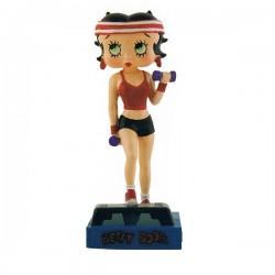 Figura Betty Boop fitness Prof - collezione N ° 27