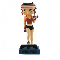 Figuur van Betty Boop fitness Prof - collectie N ° 27