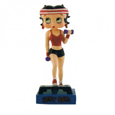 Figura Betty Boop fitness Prof - colección N ° 27