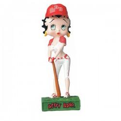 Figura a jugador de Betty Boop Baseball - colección N ° 30