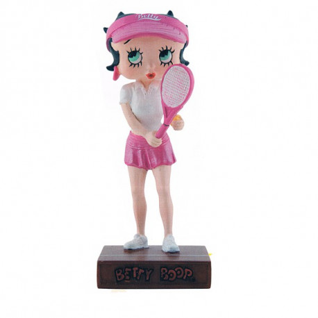 Figurine Betty Boop Joueuse de tennis - Collection N°28