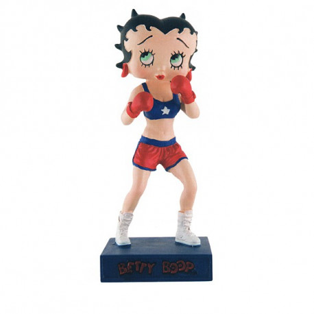 Figurine Betty Boop Boxeuse - Collection N°36