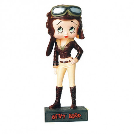 Figurine Betty Boop Aviatrice - Collection N°33