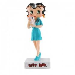 Figura a Betty Boop veterinario - colección N ° 35