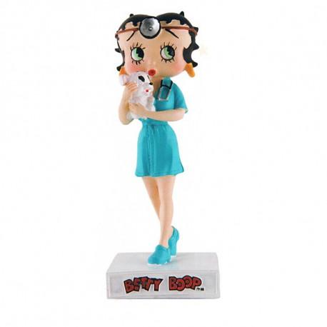 Figurine Betty Boop Vétérinaire - Collection N°35