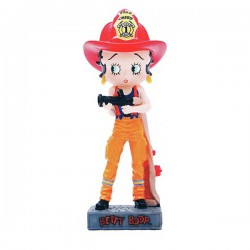 Figurine Betty Boop Pompier - Collection N°18