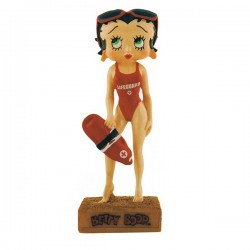 Figure Betty Boop Lifeguard - Collection N ° 24