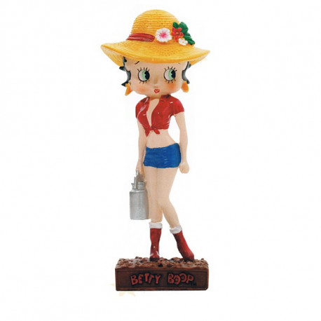 Figurine Betty Boop Fermière - Collection N°16