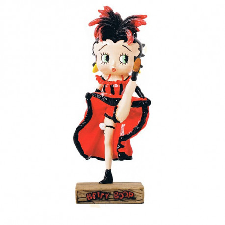 Figurine Betty Boop Danseuse de French Cancan - Collection N°17