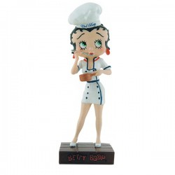 Figurine Betty Boop Chef cuisinier - Collection N°25