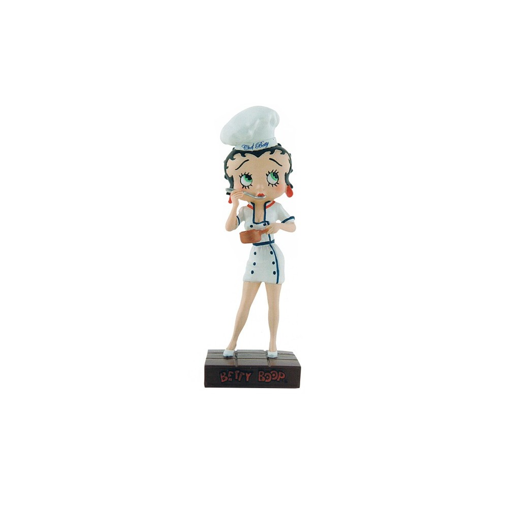 figurine betty boop chef cuisinier collection n 25. Black Bedroom Furniture Sets. Home Design Ideas