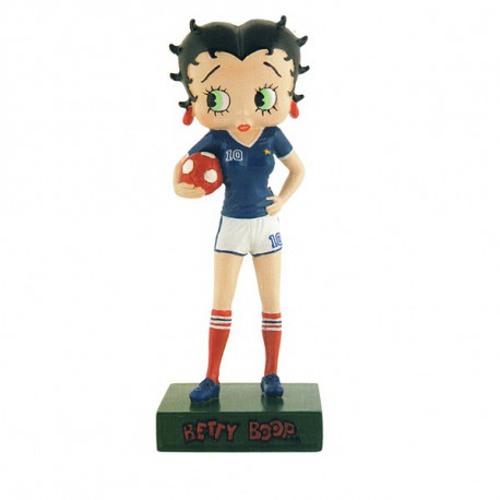 Figurine Betty Boop Footballeuse - Collection N°13