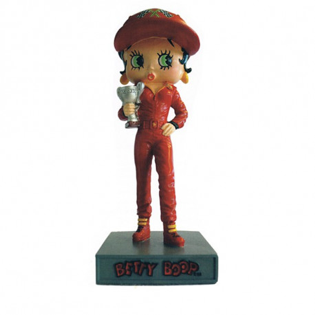 Figuur Betty Boop autocoureur - collectie N ° 11
